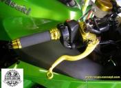 Maitre cylindre de frein avec levier court (2 doigts)