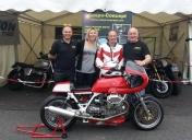 Iron bikers 2014 circuit Carole / Stand de Raspo-Concept
