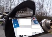 modification de L'Ar / Feu, clignos, support plaque