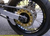 Couronne spéciale et roues à rayons