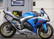 Suzuki GSXR 1000 street bike by Raspo