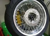 Montage du pneu AR