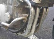 Arrivée de la moto dans nos ateliers