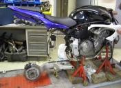 Préparation du montage du monobras