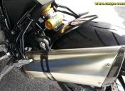 raspo-900-nuda-R / Silencieux titane et carbone modifié en intérieur