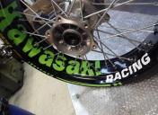 Déco des roues racing