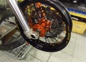 Montage et centrage des roues