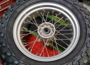 Préparation de la roue Av