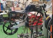 Montage à blanc des trains roulants et préparation de la boucle Ar