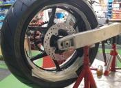 Centrage de la roue / Prise de cotes pour usinage des entretoises