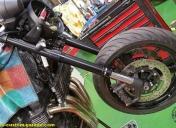 Montage de la roue et étriers pour prévoir le changement des disques