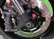Montage de la roue AV, du Gb et disques neufs