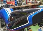 Installation de la carrosserie
