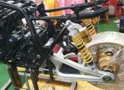 Remontage du train Ar (reste l'usinage des centreurs de roue)