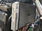 Nouveau radiateur en place