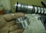 Préparation fourches / cales de pre-contraintes