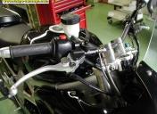 Maître cylindre de frein avec bocal déporté