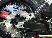 Montage de la roue Ar