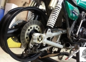 Montage bras oscillant de ZRX1100 + roue de 5.0