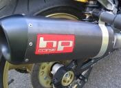 Silencieux HP Corse SPS inox noir 300mm