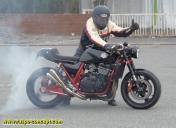 Photos pour la revue Option Moto